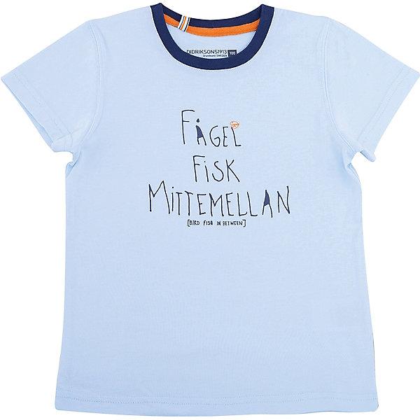 DIDRIKSONS1913 Футболка KRABBAN для мальчика DIDRIKSONS футболка обладает
