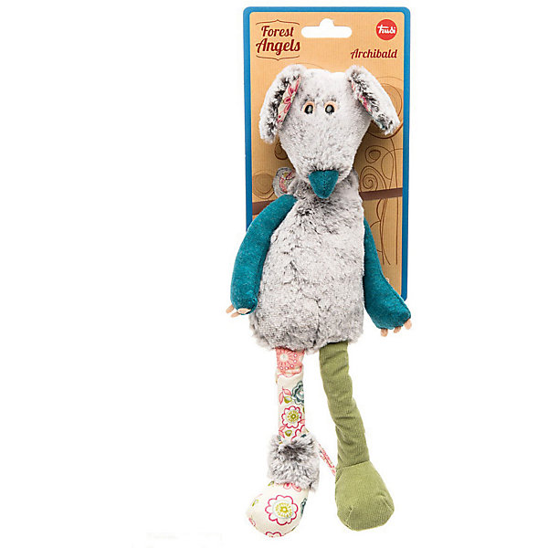 Trudi Мышь Арчибальд, 33 см, Trudi мягкие игрушки trudi лайка маркус 34 см
