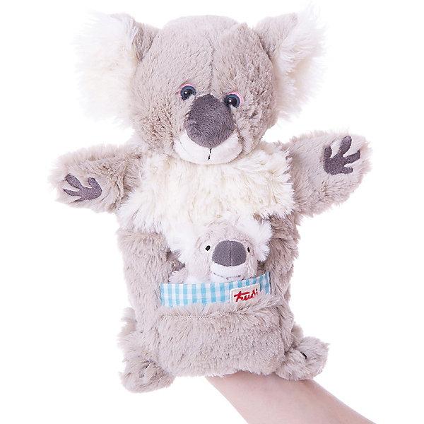 Trudi Мягкая игрушка на руку Коала с детенышем, 28 см, Trudi