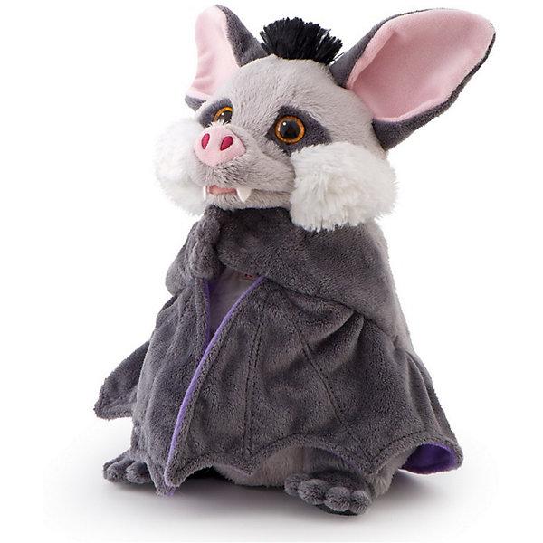 Trudi Мягкая игрушка на руку Летучая мышь, 25 см, Trudi мягкая игрушка trudi котёнок брэд