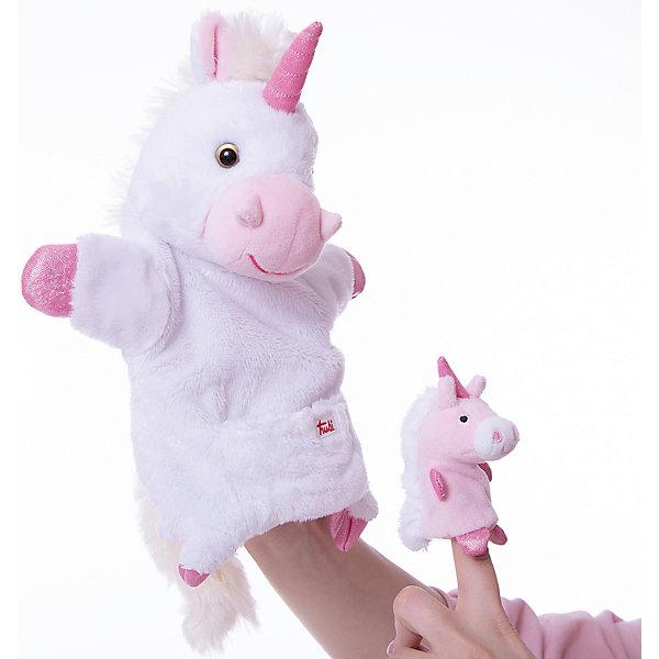 Trudi Единорог с детенышем, 28 см, Trudi мягкие игрушки trudi лайка маркус 34 см