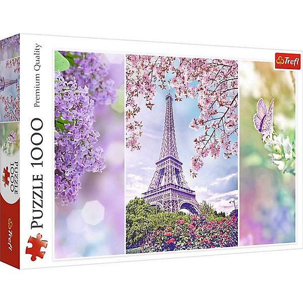 Trefl Пазл Весна в Париже, 1000 деталей, Trefl пазл мечты о париже 1000 шт