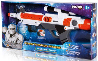 Бластер  Звёздный страж , Mioshi Army, артикул:5581237 - Игрушечное оружие
