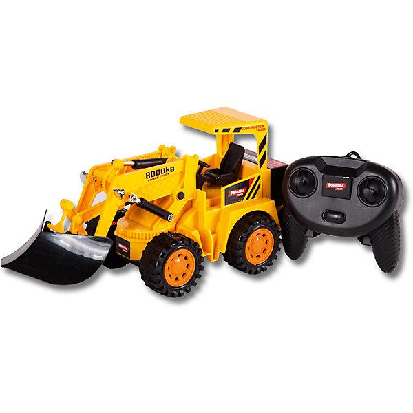 Mioshi Бульдозер, проводное управление, Mioshi Tech игрушка mioshi tech waterjet yellow mte1201 034