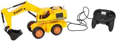 Экскаватор колёсный, проводное управление, Mioshi Tech, артикул:5581262 - Игрушки для мальчиков