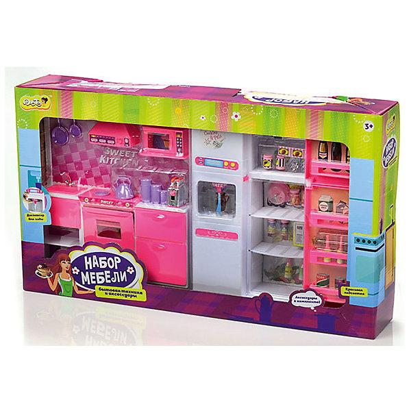 DollyToy Набор мебели для кукол Большая кухня, DollyToy набор мебели для мини кукол paremo кухня