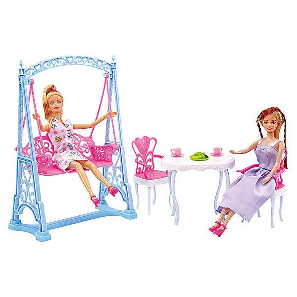 аксессуары для мебели DollyToy Набор мебели для кукол Вечеринка в саду, DollyToy