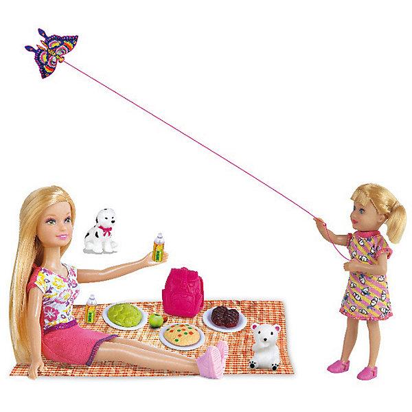 Defa Lucy Набор из 2-х кукол Пикник, 22,5 см, 14 см, Defa Lucy куклы и одежда для кукол defa lucy внимательная медсестра люси и сайри с аксессуарами