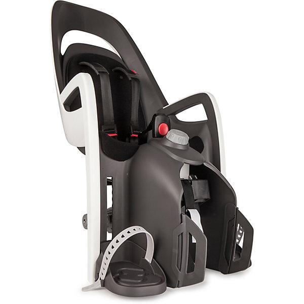Hamax Детское велокресло Caress W/Carrier Adapter, Hamax, серый/белый/черный