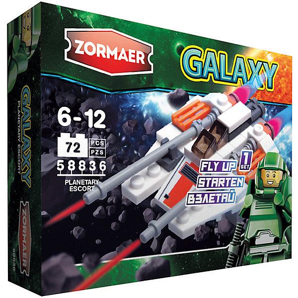 Zormaer Конструктор ''Планетный конвой'', 72 детали, Zormaer usb перезаряжаемый высокой яркости ударопрочный фонарик дальнего света конвой sos факел мощный самозащита 18650 батареи