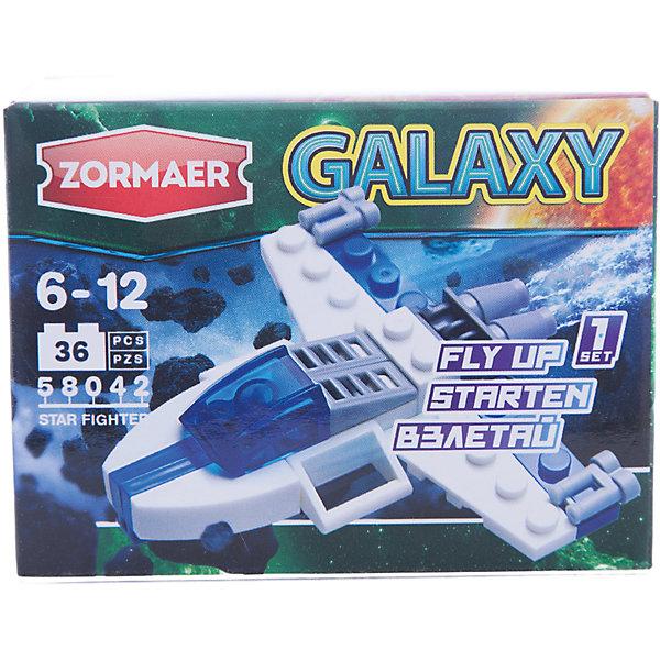 Zormaer Конструктор ''Звездный истребитель'', 36 деталей, Zormaer crystaland конструктор истребитель 6 в 1