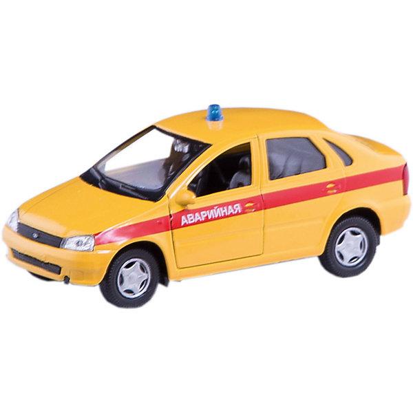 Машинка Lada Kalina аварийная 1:34, AutotimeМашинки<br>Характеристики товара:<br><br>• цвет: желтые<br>• материал: металл, пластик<br>• размер: 16,5х7,х5,7 см<br>• вес: 100 г<br>• масштаб: 1:34<br>• прочный материал<br>• хорошая детализация<br>• открываются двери<br>• страна бренда: Россия<br>• страна производства: Китай<br><br>Коллекционная машинка LADA Kalina аварийная от бренда AUTOTIME станет отличным подарком для мальчика. Подробная детализация машинки порадует увлеченного коллекционера, а открывающиеся двери и свободно вращающиеся колеса придутся по душе юному владельцу игрушечного гаража. Эта игрушка подарит восторг и радость вашему ребенку. <br><br>Игрушка также воздействует на наглядно-образное мышление, логическое мышление, развивает мелкую моторику. Изделие выполнено из сертифицированных материалов, безопасных для детей.<br><br>Машинку «Lada Kalina» аварийная от бренда AUTOTIME можно купить в нашем интернет-магазине.<br>Ширина мм: 165; Глубина мм: 57; Высота мм: 75; Вес г: 13; Возраст от месяцев: 36; Возраст до месяцев: 2147483647; Пол: Мужской; Возраст: Детский; SKU: 5583911;