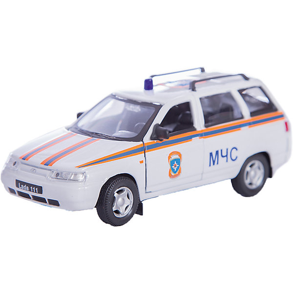 Autotime Машинка Lada 111 МЧС 1:36, Autotime autotime машинка газ 31105 волга мчс 1 43 autotime