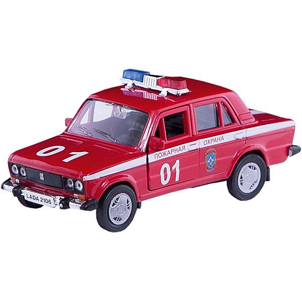 Машинка Lada 2106 пожарная охрана 1:36, AutotimeМашинки<br>Характеристики товара:<br><br>• цвет: красный<br>• материал: металл, пластик<br>• размер: 16,5х7,х5,7 см<br>• вес: 100 г<br>• масштаб: 1:36<br>• прочный материал<br>• хорошая детализация<br>• открываются двери<br>• страна бренда: Россия<br>• страна производства: Китай<br><br>Коллекционная машинка LADA 2106 пожарная охрана от бренда AUTOTIME станет отличным подарком для мальчика. Подробная детализация машинки порадует увлеченного коллекционера, а открывающиеся двери и свободно вращающиеся колеса придутся по душе юному владельцу игрушечного гаража. Эта игрушка подарит восторг и радость вашему ребенку. <br><br>Игрушка также воздействует на наглядно-образное мышление, логическое мышление, развивает мелкую моторику. Изделие выполнено из сертифицированных материалов, безопасных для детей.<br><br>Машинку «Lada 2106» пожарная охрана от бренда AUTOTIME можно купить в нашем интернет-магазине.<br>Ширина мм: 165; Глубина мм: 57; Высота мм: 75; Вес г: 13; Возраст от месяцев: 36; Возраст до месяцев: 2147483647; Пол: Мужской; Возраст: Детский; SKU: 5583939;