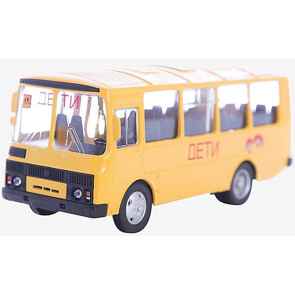 Машинка ПАЗ-32053 школьный автобус 1:43, Autotime 5583992