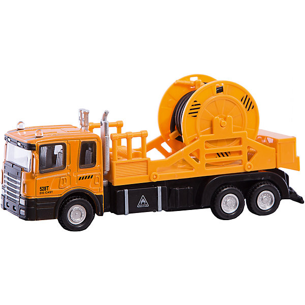 Машинка Mechanic Truck с катушкой 1:48, AutotimeМашинки<br>Характеристики товара:<br><br>• цвет: красный<br>• возраст: от 3 лет<br>• материал: металл, пластик<br>• масштаб: 1:48<br>• колеса вращаются<br>• размер упаковки: 16х6х7 см<br>• вес с упаковкой: 100 г<br>• страна бренда: Россия, Китай<br>• страна изготовитель: Китай<br><br>Эта коллекционная модель машинки отличается высокой детализацией. Окна - прозрачные, поэтому через них можно увидеть салон.<br><br>Сделана машинка из прочного и безопасного материала. Модель с катушкой.<br><br>Машинку «Mechanic Truck» с катушкой 1:48, Autotime (Автотайм) можно купить в нашем интернет-магазине.<br>Ширина мм: 165; Глубина мм: 57; Высота мм: 75; Вес г: 13; Возраст от месяцев: 36; Возраст до месяцев: 2147483647; Пол: Мужской; Возраст: Детский; SKU: 5584053;