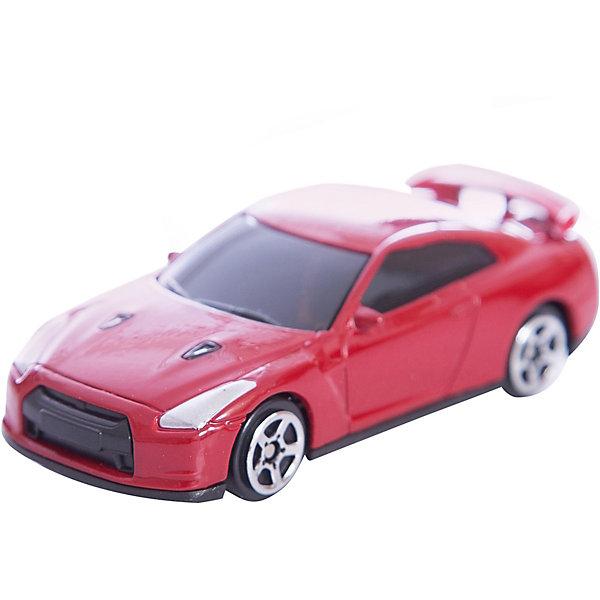 Autotime Машинка Nissan GT-R (R35) Jeans 1:64, Autotime радиоуправляемая машина hpi racing туринг 1 10 sprint 2 sport nissan gt r r35