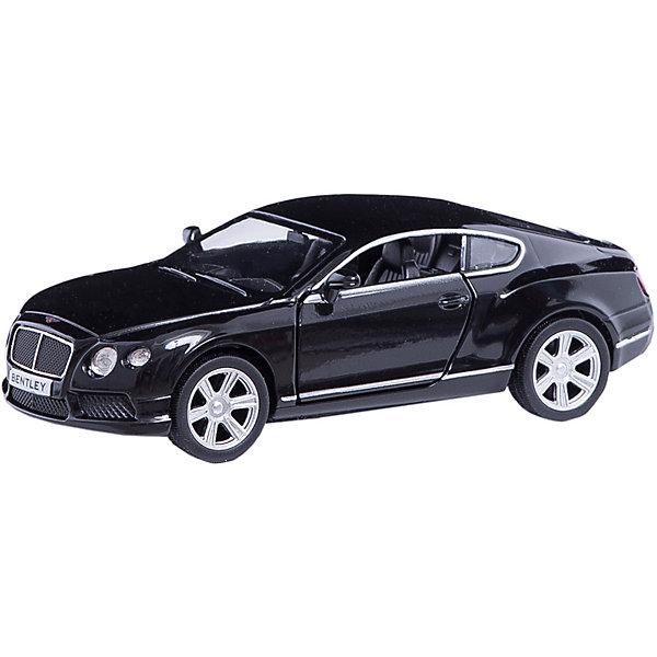 Машинка Bentley Continental GT V8 5, AutotimeМашинки<br>Характеристики товара:<br><br>• цвет: черный<br>• возраст: от 3 лет<br>• материал: металл, пластик<br>• масштаб: 1:32<br>• двери открываются<br>• размер упаковки: 16х7х7 см<br>• вес с упаковкой: 100 г<br>• страна бренда: Россия, Китай<br>• страна изготовитель: Китай<br><br>Эта модель представляет собой миниатюрную копию реально существующей машины. Она отличается высокой детализацией, является коллекционной моделью. <br><br>Сделана машинка из прочного и безопасного материала. Корпус - из металла. Благодаря прозрачным стеклам виден подробно проработанный салон.<br><br>Машинку «Bentley Continental GT V8 5», Autotime (Автотайм) можно купить в нашем интернет-магазине.<br>Ширина мм: 165; Глубина мм: 57; Высота мм: 75; Вес г: 13; Возраст от месяцев: 36; Возраст до месяцев: 2147483647; Пол: Мужской; Возраст: Детский; SKU: 5584104;