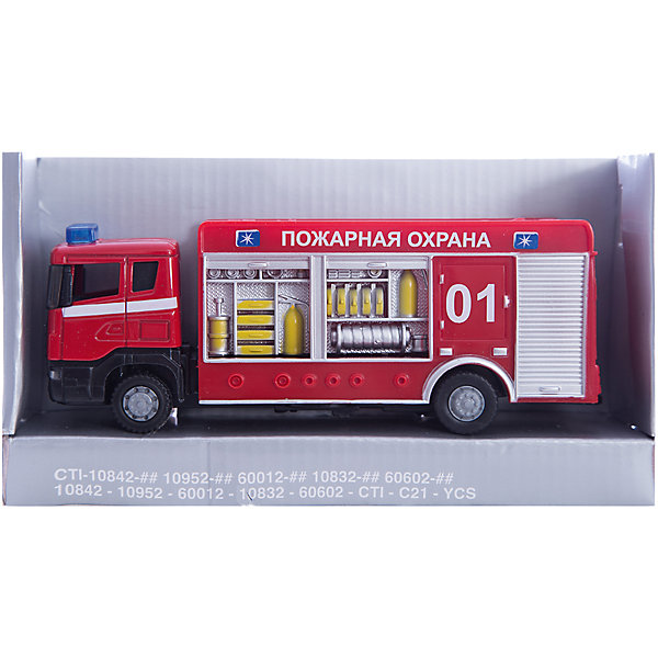 Autotime Машинка Scania пожарная спецбригада 1:48, Autotime scania hauber 04 orange model car ready made herpa 1 87