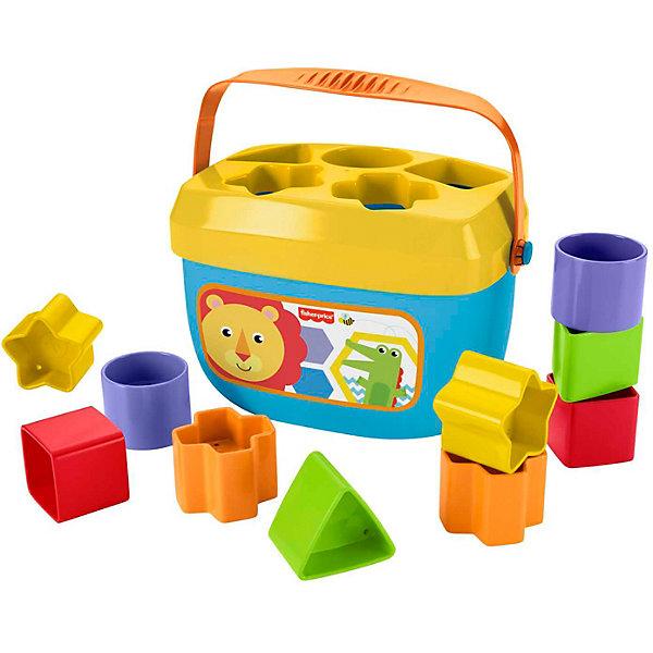 Mattel Сортер Fisher-Price «Первые кубики малыша» цена