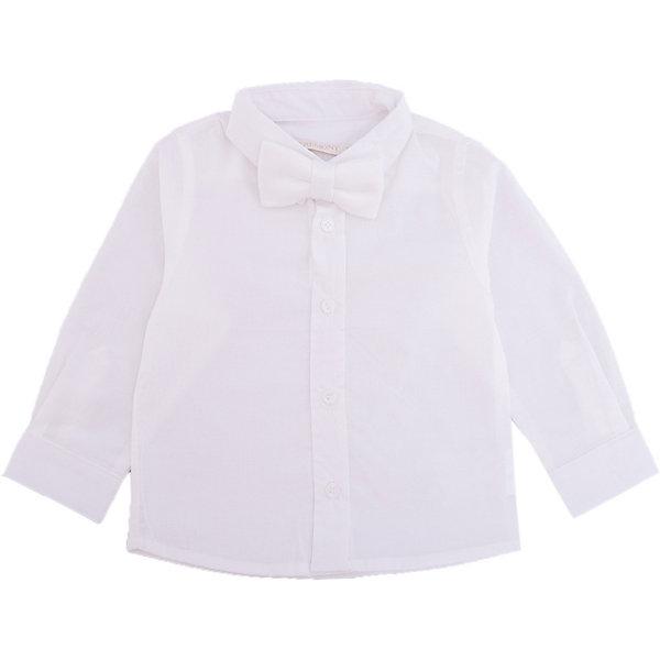 Рубашка для мальчика WojcikОдежда<br>Характеристики товара:<br><br>• цвет: белый<br>• состав ткани: хлопок 100%<br>• особенности: школьная, нарядная<br>• отложной воротник<br>• застежка: пуговицы<br>• длинные рукава<br>• сезон: круглый год<br>• страна бренда: Польша<br>• страна изготовитель: Польша<br><br>Эта модель одежды для школы сделана из качественного материала с преобладанием хлопка в составе. Белая рубашка для мальчика Войчик подойдет для также для торжественных случаев.<br><br>Классическая рубашка для мальчика Wojcik - удобная и модная школьная одежда. Польская продукция для детей от бренда Войчик - это качественные и стильные вещи.<br><br>Рубашку для мальчика Wojcik (Войчик) можно купить в нашем интернет-магазине.<br>Ширина мм: 174; Глубина мм: 10; Высота мм: 169; Вес г: 157; Цвет: кремовый; Возраст от месяцев: 2; Возраст до месяцев: 5; Пол: Мужской; Возраст: Детский; Размер: 62,74,68; SKU: 5588192;