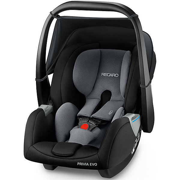 RECARO Автокресло Recaro Privia EVO, 0-13 кг., carbon black автокресло recaro optiafix carbon black