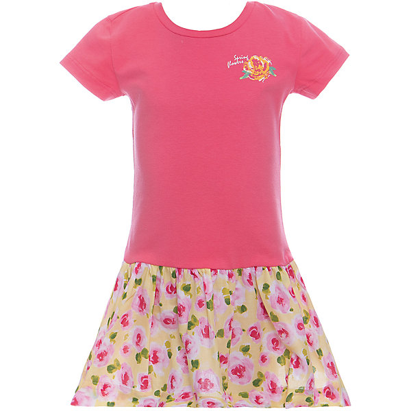 Платье для девочки WojcikПлатья и сарафаны<br>Характеристики товара:<br><br>• цвет: розовый<br>• состав ткани: хлопок 92%, эластан 8%<br>• комбинированный материал<br>• сезон: лето<br>• короткие рукава<br>• страна бренда: Польша<br>• страна изготовитель: Польша<br><br>Яркое платье для девочки Wojcik - удобная и модная одежда для теплого времени года. Польская одежда для детей от бренда Войчик - это качественные и стильные вещи.<br><br>Эта модель одежды для детей сделана из качественного материала с преобладание дышащего натурального хлопка в составе. Розовое платье для девочки Войчик отличается модным кроем с пышным подолом.<br><br>Платье для девочки Wojcik (Войчик) можно купить в нашем интернет-магазине.<br>Ширина мм: 236; Глубина мм: 16; Высота мм: 184; Вес г: 177; Цвет: светло-розовый; Возраст от месяцев: 48; Возраст до месяцев: 60; Пол: Женский; Возраст: Детский; Размер: 110,104,128,122,116; SKU: 5589629;
