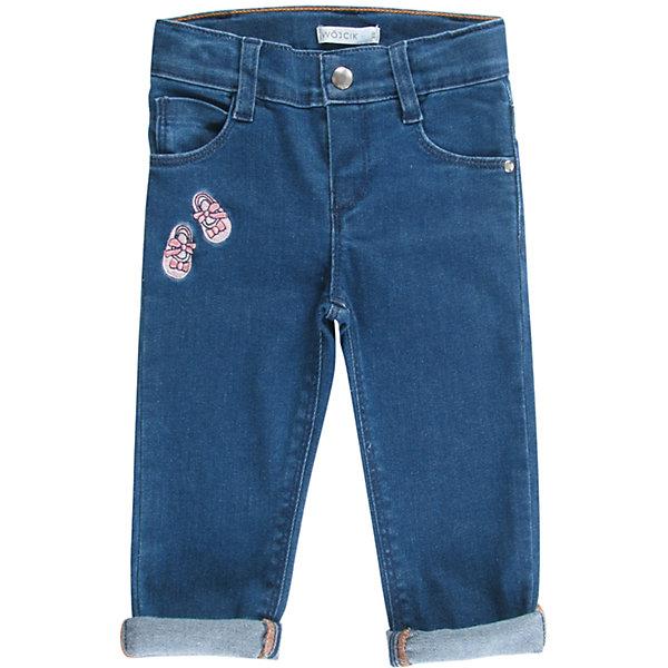 Wojcik Джинсы для девочки Wojcik джинсы для девочки oldos моника цвет синий 6o8jn12 2 размер 158 12 лет