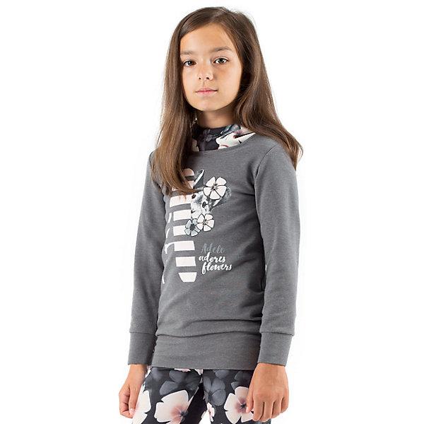 Футболка с длинным рукавом для девочки WojcikФутболки с длинным рукавом<br>Характеристики товара:<br><br>• цвет: серый<br>• состав ткани: 92% хлопок, 8% эластан<br>• сезон: демисезон<br>• длинные рукава<br>• страна бренда: Польша<br>• страна изготовитель: Польша<br><br>Практичный лонгслив для детей сделан из дышащего мягкого материала. Модная футболка с длинным рукавом для девочки Войчик легко надевается. Детский лонгслив декорирован принтом. Популярный бренд Wojcik - это польская детская одежда отличного качества по доступной цене. <br><br>Лонгслив для девочки Wojcik (Войчик) можно купить в нашем интернет-магазине.<br>Ширина мм: 199; Глубина мм: 10; Высота мм: 161; Вес г: 151; Цвет: серый; Возраст от месяцев: 36; Возраст до месяцев: 48; Пол: Женский; Возраст: Детский; Размер: 104,140,134,128,122,116,110; SKU: 5591301;