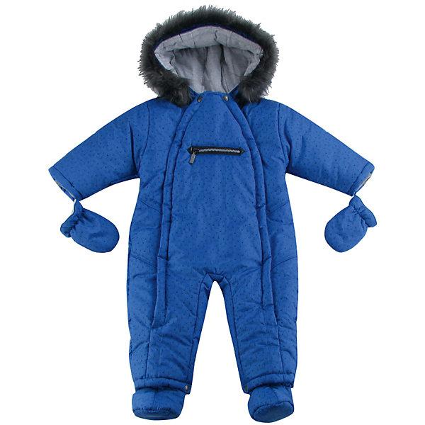 Комбинезон для мальчика WojcikВерхняя одежда<br>Характеристики товара:<br><br>• цвет: синий<br>• комплектация: рукавицы<br>• состав ткани: 100% полиэстер <br>• сезон: демисезон<br>• особенности модели: с капюшоном<br>• застежка: молния<br>• капюшон: с мехом<br>• длинные рукава<br>• страна бренда: Польша<br>• страна изготовитель: Польша<br><br>Синий комбинезон с капюшоном для мальчика от Войчик легко надевается благодаря удобным застежкам. Оригинальный комбинезон для детей дополнен мягкой подкладкой. Детский комбинезон декорирован опушкой. Бренд Wojcik - это польская детская одежда отличного качества по доступной цене. <br><br>Комбинезон для мальчика Wojcik (Войчик) можно купить в нашем интернет-магазине.<br>Ширина мм: 356; Глубина мм: 10; Высота мм: 245; Вес г: 519; Цвет: синий; Возраст от месяцев: 2; Возраст до месяцев: 5; Пол: Мужской; Возраст: Детский; Размер: 62,80,74,68; SKU: 5591836;
