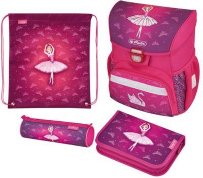Ранец HerlitzLOOP PLUS Ballerina, с наполнением, артикул:5595053 - Школьные рюкзаки и ранцы
