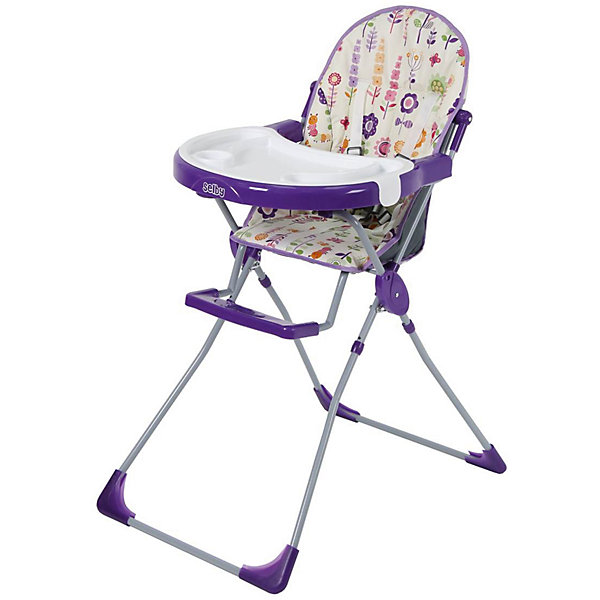 Selby Стульчик для кормления 251 Яркий луг, Selby, фиолетовый selby стульчик для кормления яркий луг цвет зеленый 1295 05