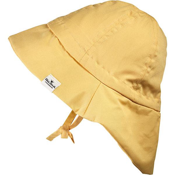 Панама Sweet Honey, 0-6 мес., Elodie DetailsШапочки<br>Панама Sweet Honey, 0-6 мес., Elodie Details (Элоди Дитейлс)<br><br>Характеристики:<br><br>• удобные завязки<br>• надежная защита головы<br>• приятна коже<br>• подходит для детей от 0 до 6 месяцев<br>• размер: 42 см<br>• материал: хлопок<br>• размер упаковки: 17,5х5х19 см<br><br>Панама Sweet Honey предназначена для малышей с рождения до 6 месяцев. Она надёжно защитит голову ребёнка и предотвратит перегрев головы в жаркий летний день. Панамка изготовлена из натурального хлопка, окрашенного в нежный жёлтый цвет. Фиксируется при помощи надёжных завязок. В такой стильной панаме гулять ещё приятнее!<br><br>Панаму Sweet Honey, 0-6 мес., Elodie Details (Элоди Дитейлс) вы можете купить в нашем интернет-магазине.<br>Ширина мм: 190; Глубина мм: 50; Высота мм: 175; Вес г: 350; Возраст от месяцев: 0; Возраст до месяцев: 6; Пол: Унисекс; Возраст: Детский; SKU: 5613558;