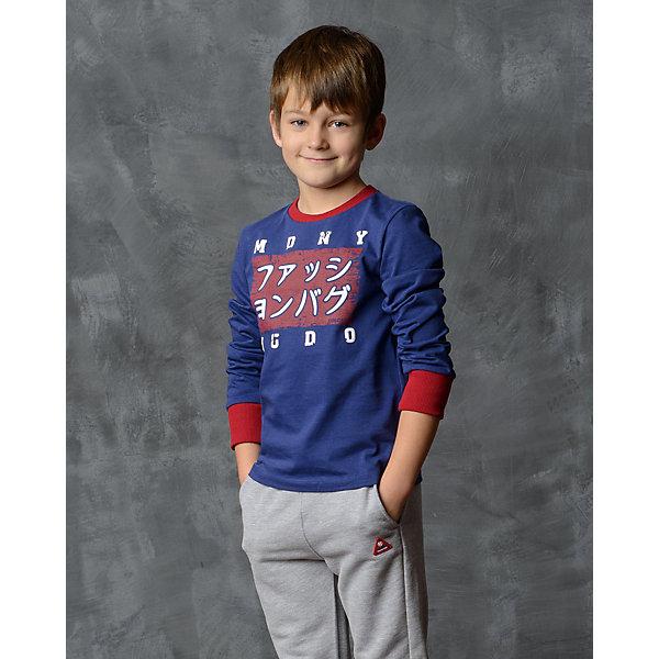 Футболка с длинным рукавом для мальчика Modniy JukФутболки с длинным рукавом<br>Характеристики товара:<br><br>• цвет: хаки<br>• состав: 100% хлопок<br>• длинные рукава<br>• мягкий материал<br>• круглый вырез горловины<br>• манжеты<br>• принт<br><br>• страна бренда: Российская Федерация<br>• страна производства: Российская Федерация<br><br>Модели одежды из новой коллекции от бренда Модный жук - это стильные и удобные вещи, созданные специально для детей. Они отличаются продуманным дизайном, качественными материалами и комфортной посадкой. Дети носят их с удовольствием! Принтованная футболка с длинным рукавом - хит сезона, отличный вариант базовой вещи для разной погоды. Она отлично сочетается с джинсами и брюками, хорошо сидит по фигуре.<br>Одежда и аксессуары от российского бренда Модный жук - это способ пополнить гардероб ребенка модными изделиями по доступной цене. Для их производства используются только безопасные, проверенные материалы и фурнитура. Новая коллекция поддерживает хорошие традиции бренда! <br><br>Футболку с длинным рукавом для мальчика от популярного бренда Модный жук можно купить в нашем интернет-магазине.<br>Ширина мм: 230; Глубина мм: 40; Высота мм: 220; Вес г: 250; Цвет: синий; Возраст от месяцев: 120; Возраст до месяцев: 132; Пол: Мужской; Возраст: Детский; Размер: 140/146,92/98,134/140,128/134,122/128,110/116,104/110; SKU: 5614201;