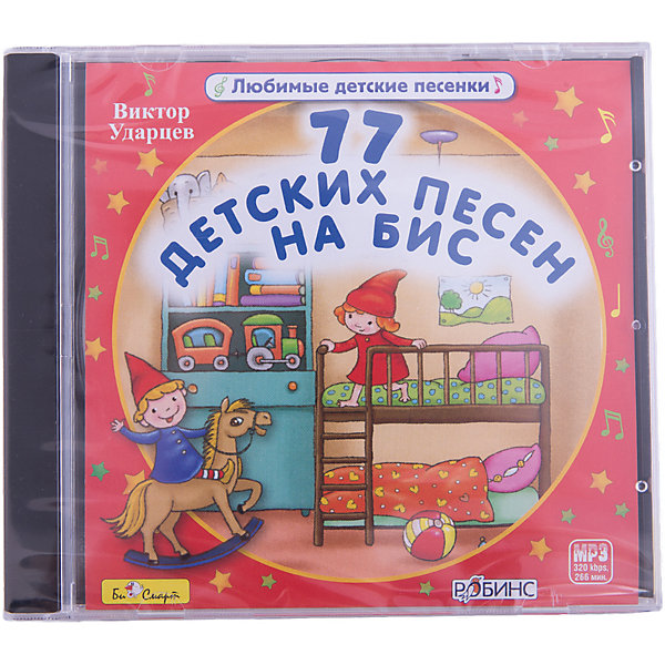 цена на Би Смарт MP3 77 детских песен на бис
