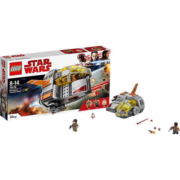 LEGO STAR WARS 75176: Транспортный корабль СопротивленияКонструкторы<br><br>Ширина мм: 354; Глубина мм: 188; Высота мм: 62; Вес г: 415; Возраст от месяцев: 96; Возраст до месяцев: 168; Пол: Мужской; Возраст: Детский; SKU: 5619979;