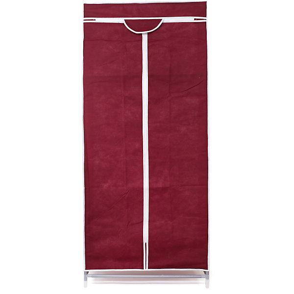 Тканевый шкаф Кармэн, Homsu, бордовыйОрганайзеры для одежды<br>Характеристики товара:<br><br>• цвет: бордовый<br>• материал: металл, пластик, текстиль<br>• размер: 68х45х145 см<br>• вес: 3 кг<br>• застежка: молния<br>• твердый каркас<br>• вместимость: полка и перекладина для подвешивания<br>• страна бренда: Россия<br>• страна изготовитель: Китай<br><br>Тканевый шкаф Кармэн, Homsu (Хомсу) - очень удобная вещь для хранения вещей и эргономичной организации пространства.<br><br>Он состоит из двух отделений, материал помогает защитить вещи от пыли и влаги.<br><br>Тканевый шкаф Кармэн, Homsu можно купить в нашем интернет-магазине.<br>Ширина мм: 650; Глубина мм: 260; Высота мм: 70; Вес г: 3000; Возраст от месяцев: 216; Возраст до месяцев: 1188; Пол: Унисекс; Возраст: Детский; SKU: 5620246;