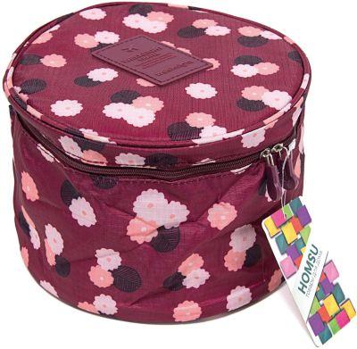 Органайзер круглый Цветок, Homsu, бордовый, артикул:5620287 - Всё для мам