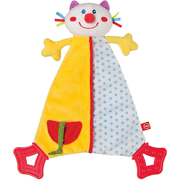 цена Happy Baby Развивающая игрушка Платок Dreamy Kitty, Happy Baby
