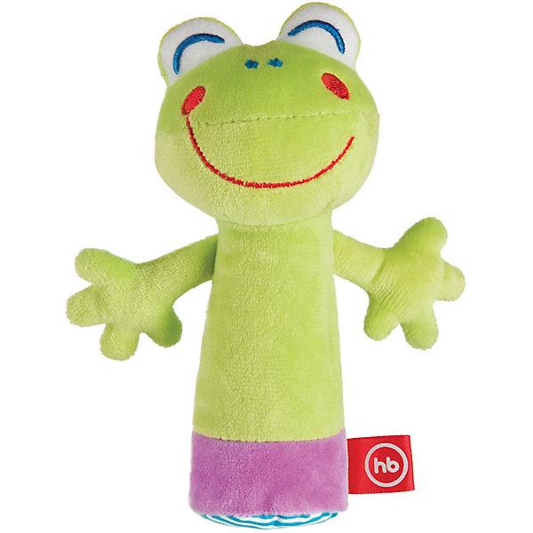 Happy Baby Погремушка-пищалка Cheepy Frogling, Happy baby happy baby погремушка пищалка funny hedgehog