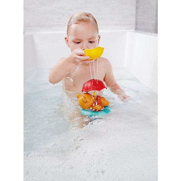 Купить Набор игрушек для ванны Hape Мишка с зонтами, Китай, Унисекс