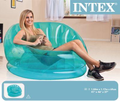 Надувное кресло Космос 104х117х69см, Intex, артикул:5630557 - Надувная мебель