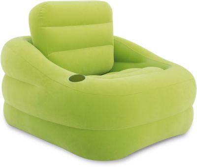 Надувное кресло Акцент 97х107х71см, Intex, зеленый, артикул:5630561 - Надувная мебель