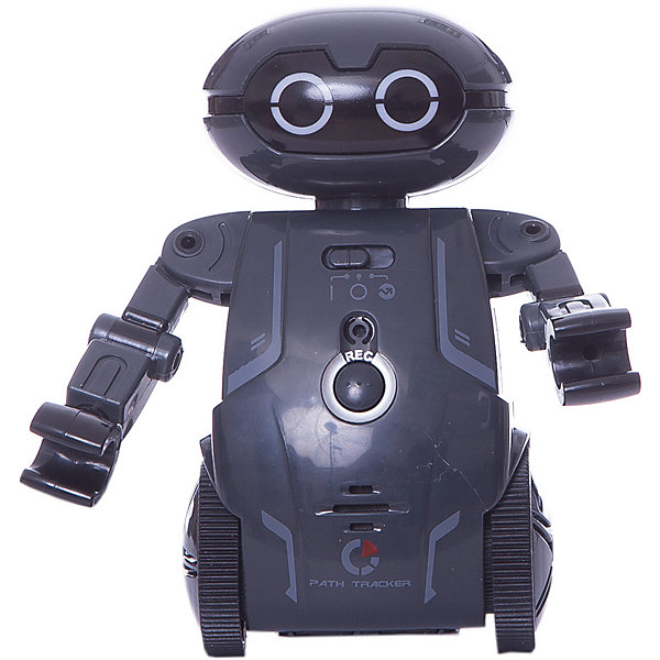 Робот Мэйз брейкер (Maze Breaker), Silverlit, черныйРоботы-игрушки<br>Характеристики товара:<br><br>• возраст: от 5 лет;<br>• материал: пластик;<br>• в комплекте: робот, путевая карта, инструкция;<br>• тип батареек: 2 батарейки ААА;<br>• наличие батареек: нет в комплекте;<br>• высота робота: 12,5 см;<br>• размер упаковки: 20,8х18,4х9,3 см;<br>• вес упаковки: 303 гр.;<br>• страна производитель: Китай.<br><br>Робот Maze Breaker Sirverlit черный — удивительный робот, который умеет двигаться, говорить и кататься по определенному маршруту. Робот работает в нескольких режимах. В режиме «Игра» Мейз Брейкер двигается, танцует и записывает голос. <br><br>Нажав на кнопку на груди робота, ребенок произнесет фразу, которую робот сохранит в памяти и затем воспроизведет. Чтобы послушать ее, достаточно щелкнуть пальцами или хлопнуть в ладоши. Он может сохранять до 3 записей. <br><br>В режиме «Определение маршрута» робот двигается по заданному направлению на специальном листе благодаря сенсорным датчикам. Он определяет заданный путь и четко следует указаниям, а может также прогуляться по лабиринту.<br><br>Робот оснащен световыми и звуковыми эффектами, делающими игру с ним еще увлекательней. У него горят глаза, а во время движения он издает звуки. Управлять роботом можно при помощи бесплатного мобильного приложения. <br><br>Робота Maze Breaker Sirverlit черного можно приобрести в нашем интернет-магазине.<br>Ширина мм: 208; Глубина мм: 184; Высота мм: 93; Вес г: 303; Возраст от месяцев: 60; Возраст до месяцев: 2147483647; Пол: Мужской; Возраст: Детский; SKU: 5631987;