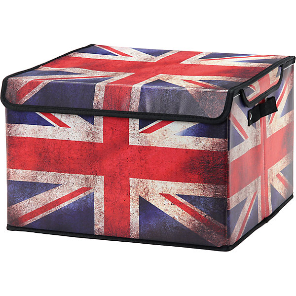 EL Casa Кофр складной для хранения 41*36*26 см. Британский флаг,