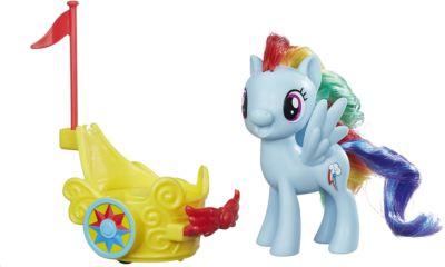 My little Pony Игровой набор Hasbro My little Pony Пони в карете, Рейнбоу Дэш
