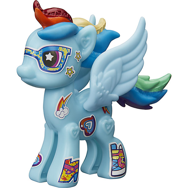 Hasbro Игровой набор Hasbro My little Pony Создай свою пони, Рейнбоу Дэш набор hasbro my little pony пони с артикуляцией