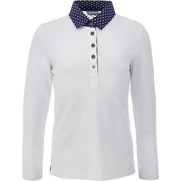Gulliver Рубашка-поло для девочки Gulliver gulliver брюки для девочки gulliver