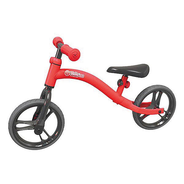 - Беговел Y-volution Velo Air, красный беговел velo junior yvolution беговел velo junior