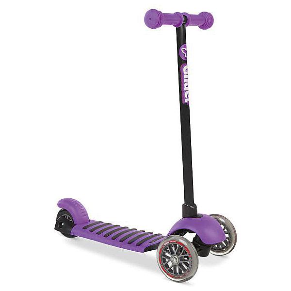 - Трехколесный самокат Y-volution Glider Deluxe, фиолетовый